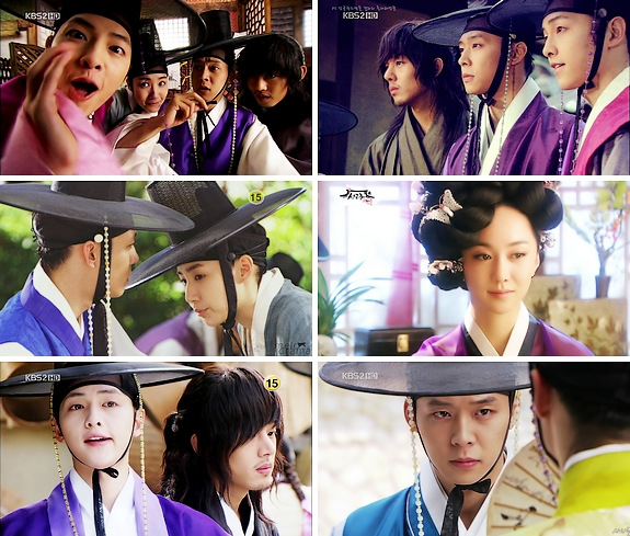 sungkyunkwan scandal park micky yoochun park min young city hunter miss ripley hong gil dong kdrama yoo ha in fashion king ki song jung baby faced beauty scent its okay daddy girl