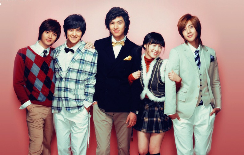 boys over before flowers hana yori dango drama corée lee min ho city hunter personnal taste go hye sun the musical kim hyung joon ss501 playful kiss