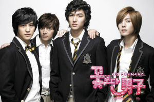 boys over flowers hana yori dango kdrama lee min ho city hunter personal taste kim hyun joong ss501 tmax playful kiss go hye sun the musical flower four
