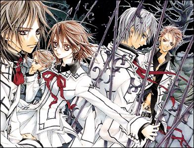 vampire knight manga gothique vampire romace shojo twilight dracula