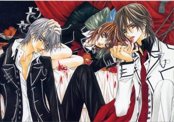 vampire knight manga shoujou shojo twilight dracula diaries matsuri hino cover