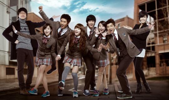 dream high saison 1 corée drama  suzy miss a t-ara ara eun jeong ok taek yeon jang woo young iu 2pm