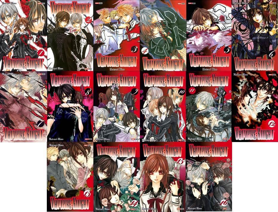 vampire knight manga gothique vampire tome série couverture cover romance shojo twilight dracula
