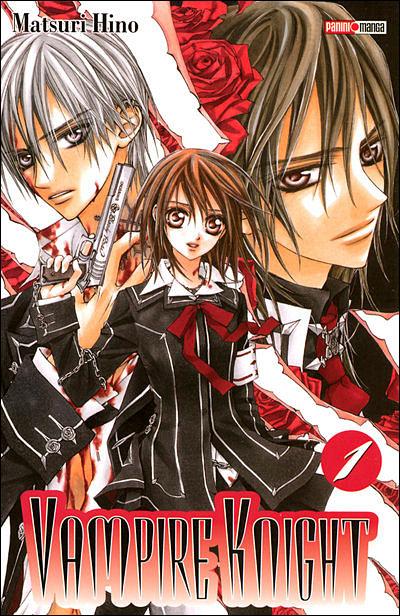 vampire knight manga gothique vampire tome 1 couverture cover romance shojo twilight dracula